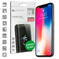 iPhone X / iPhone XS 4smarts Curved Glass Screen Protector - Black