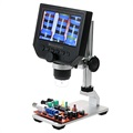 "600X Microscope with 4.3"" HD LCD Display and LED Light"