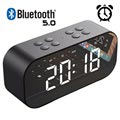Coluna Bluetooth com Despertador LED AEC BT501 - Preto