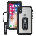 iPhone X / iPhone XS Armor-X MX-IPHX-BK Waterproof Case - Black