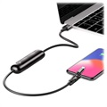 Baseus Portable Power Bank - Lightning, USB-C, MicroUSB - Black