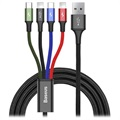 Baseus Rapid Series 4-in-1 Cable CA1T4-A01 - 1.2m - Black