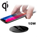Baseus Simple Ultra-Thin Qi Wireless Charger - 10W - Black