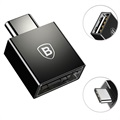 Baseus USB Type-C Male / USB Female OTG Adapter - Black