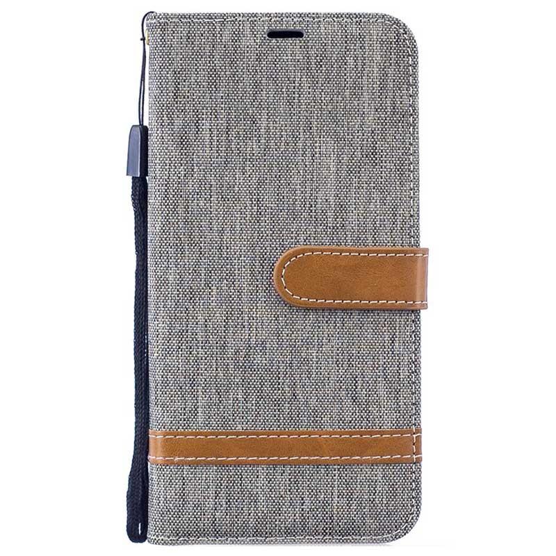 a01be2d96 Bolsa tipo carteira Canvas Diary para Samsung Galaxy M10