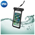 "Capa Impermeável Universal Celly SplashBag - 6.2"" - Preto"