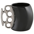 Ceramic Brass Knuckles Cup / Coffee Mug