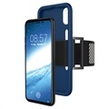 iPhone X / iPhone XS Detachable Silicone Armband - Blue