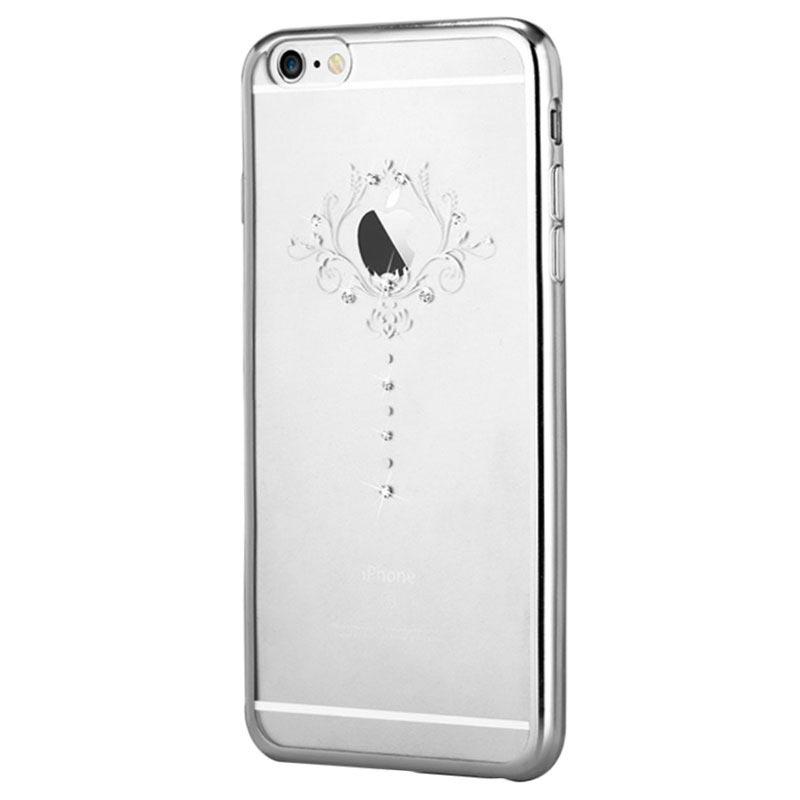 Capa Devia Crystal Iris para iPhone 6 Plus 6S Plus - Prateada 7f0027e04d