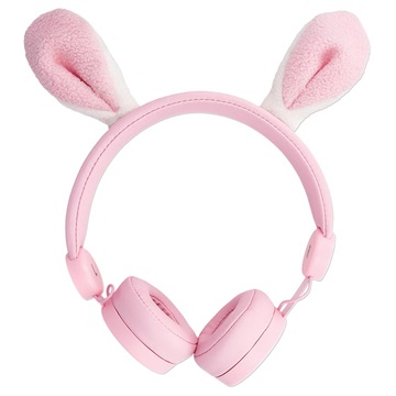 Forever Sweet Animal AMH-100 Stereo Headphones - Bunny