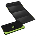 Painel Solar 21W com Power Bank de 6400mAh Green Cell SolarCharge