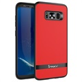 Samsung Galaxy S8+ Ipaky Hybrid Case - Red