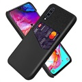 KSQ Samsung Galaxy A70 Case with Card Pocket