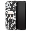 Karl Lagerfeld Flower iPhone 11 Pro Max TPU Case - Black