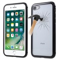 iPhone 7 / iPhone 8 Magnetic Case with Tempered Glass Back