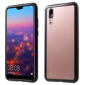 Huawei P20 Magnetic Case with Tempered Glass Back