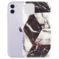 Capa de TPU Marble Series para iPhone 11