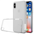 Capa em TPU Nillkin Nature Series 0.6mm para iPhone X / iPhone XS - Transparente