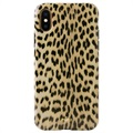 Puro Leopard iPhone X / iPhone XS Case