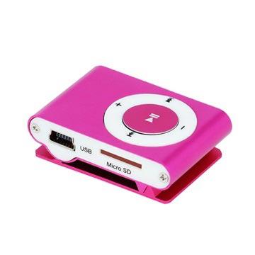 Mini leitor mp3 setty com auscultadores rosa choque stopboris Images