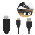 Cabo SiGN HDMI/Lightning para iPhone/iPad - 2M – Preto