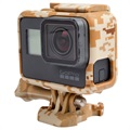 GoPro Hero5 Silicone Case - Brown Camouflage