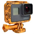 GoPro Hero5 Silicone Case - Yellow Camouflage