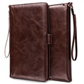 iPad Mini 3, iPad Mini 4 Smart Flip Case with Hand Strap - Coffee