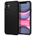 Capa de TPU Spigen Liquid Air para iPhone 11 - Preto