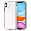 Capa de TPU Spigen Liquid Crystal para iPhone 11 - Transparente