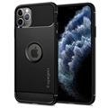 Spigen Rugged Armor iPhone 11 Pro Max TPU Case - Black