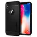 Capa Spigen Rugged Armor para iPhone X / iPhone XS - Mate Preto