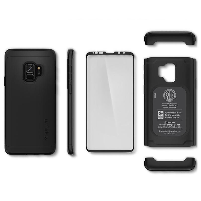 best service 7a858 abd1d Spigen Thin Fit 360 Samsung Galaxy S9 Case - Black