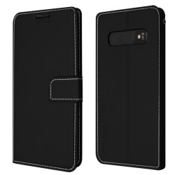 Star-Case Soul Samsung Galaxy S10 Wallet Case with Card Slots - Black