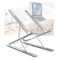 "Universal Foldable Multi-angle Laptop Stand N8 - 17.3"" - Silver"