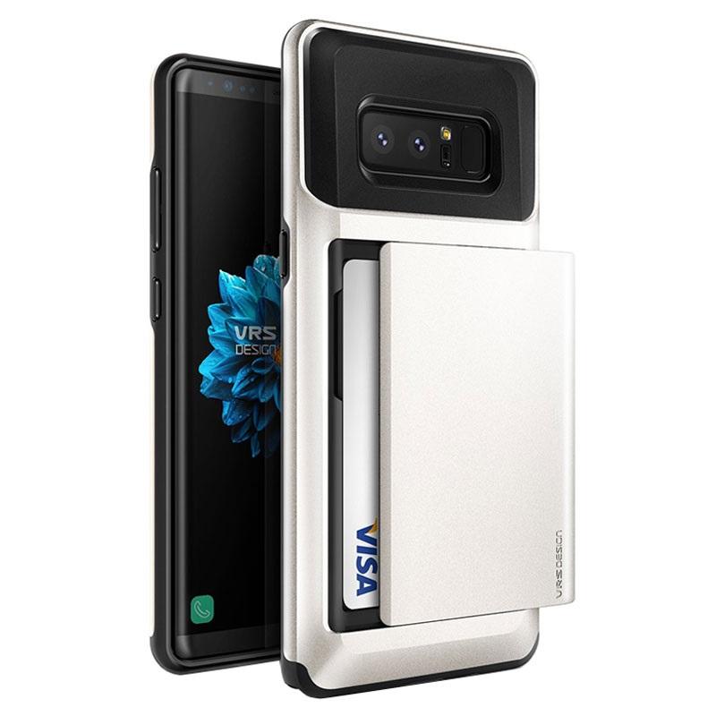 Capa Vrs Design Damda Glide Para Samsung Galaxy Note 8 Branco