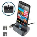 4smarts GravityDock Lightning & MicroUSB Magnetic Charging Station - 10.5W (Open Box - Excellent)