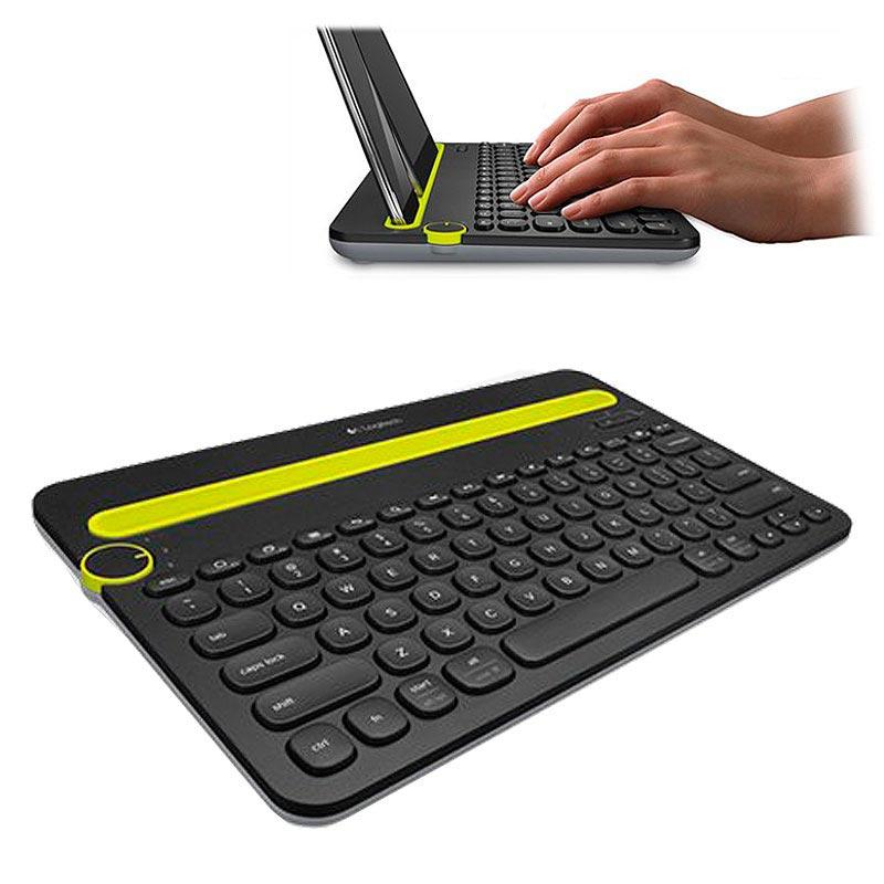 Logitech K480 Bluetooth Multi Device Keyboard Nordic