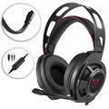 Onikuma M190 Mega Bass Gaming Headset with LED - Black