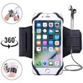 "Universal Magnetic Sports Armband for Smartphones - 4""-5.8"" - Black"